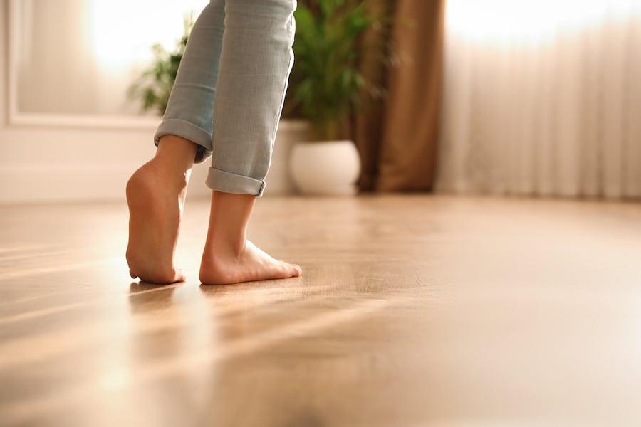 Gebäudetechnik Fußbodenheizung